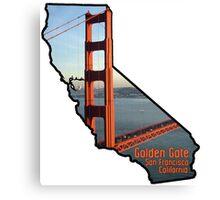 California Golden Gate Canvas Print