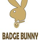 Badge Bunny by BlueLine LEO