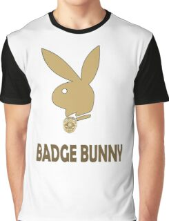 Badge Bunny Graphic T-Shirt