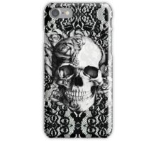 Gothic Lace skull iPhone Case/Skin