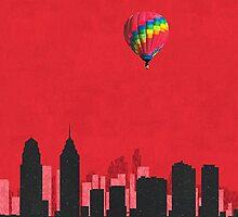 Coldplay Philadelphia Duvet by Marcuccio