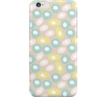 Round and Round Retro Funky Floral Motifs iPhone Case/Skin