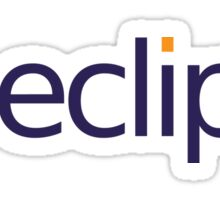 Eclipse (TM) Logo Sticker