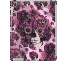 Girly by nature pink skull pattern iPad Case/Skin