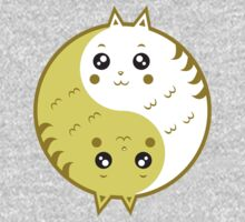 Cute cats yin yang  Kids Clothes