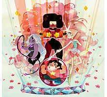 steven universe and the crystal gems Photographic Print