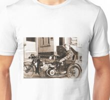 Bad Ass Modified Motorcycle used during WW2 Unisex T-Shirt