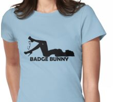 Badge Bunny 2 Womens Fitted T-Shirt