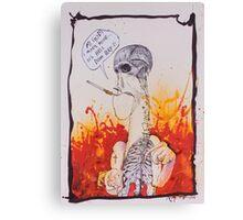 It's Hell Down here- Ralph Steadman Canvas Print