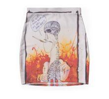 It's Hell Down here- Ralph Steadman Mini Skirt