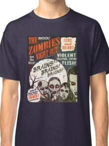 The Zombies Night Out! Classic T-Shirt