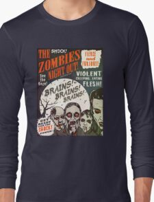 The Zombies Night Out! Long Sleeve T-Shirt
