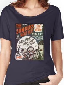 The Zombies Night Out! Women's Relaxed Fit T-Shirt