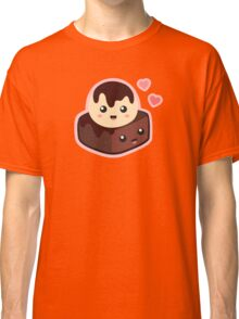 ice cream and brownie Classic T-Shirt