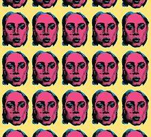 Pucker Pop Pattern by Seth Bowman