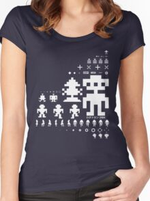 Robotron Women's Fitted Scoop T-Shirt