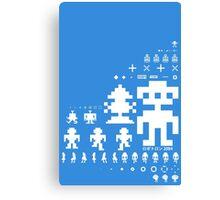 Robotron Canvas Print