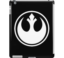 Rebel Alliance- White logo iPad Case/Skin