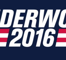 Frank Underwood 2016  Sticker