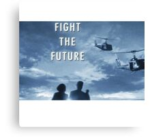 X Files - Fight The Future Canvas Print