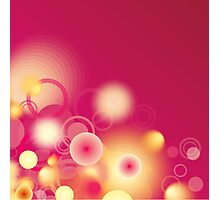 Abstract background Photographic Print
