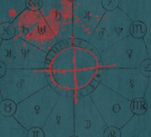 Zodiac Minimalist Poster Sticker