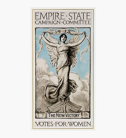 History US feminism 1915 Votes for women Photographic Print