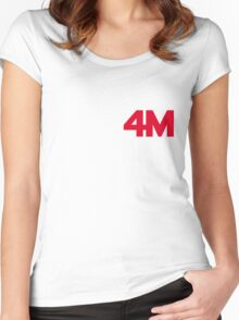 4minute - Hate Women's Fitted Scoop T-Shirt