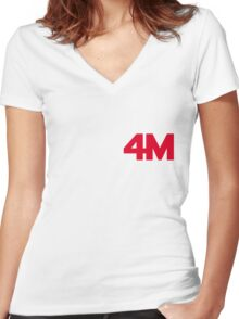 4minute - Hate Women's Fitted V-Neck T-Shirt