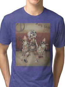 Tina and the Damsels Tri-blend T-Shirt