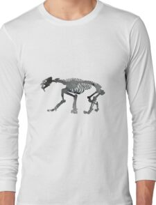 saber toothed cat Long Sleeve T-Shirt