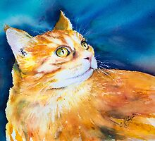 MARMALADE CAT by Carrie McKenzie