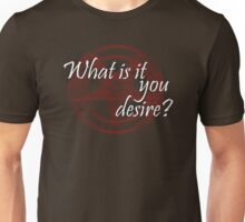 Lucifer - What is it you desire? Unisex T-Shirt
