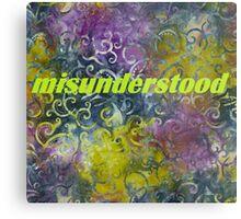 Misunderstood multi-colored Metal Print