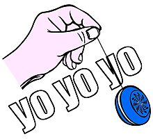 Yo Yo Yo  Photographic Print