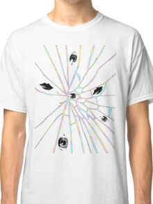 Pastel Cracked Doll Classic T-Shirt