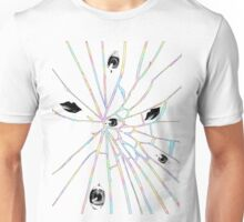 Pastel Cracked Doll Unisex T-Shirt