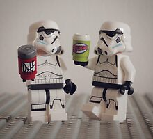 Lego Stormtroopers with drinks  by ajk92