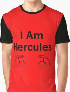 I Am Hercules - (Designs4You) - Greek - God - Greece Graphic T-Shirt
