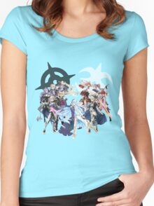 Fire Emblem Fates - Hoshido & Nohr Royalty Women's Fitted Scoop T-Shirt