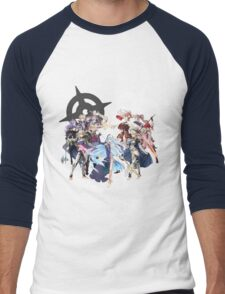 Fire Emblem Fates - Hoshido & Nohr Royalty Men's Baseball ¾ T-Shirt