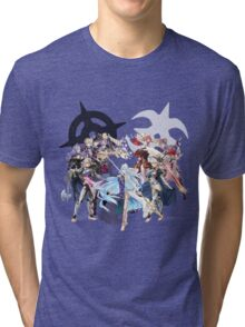 Fire Emblem Fates - Hoshido & Nohr Royalty Tri-blend T-Shirt