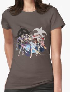 Fire Emblem Fates - Hoshido & Nohr Royalty Womens Fitted T-Shirt