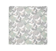 doves and flowers Scarf