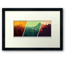 FireWatch Framed Print