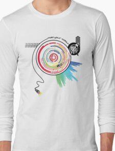 Pendulum Vinyl Music Mashup Long Sleeve T-Shirt