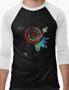 Pendulum Vinyl Music Mashup Men's Baseball ¾ T-Shirt