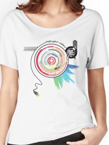 Pendulum Vinyl Music Mashup Women's Relaxed Fit T-Shirt