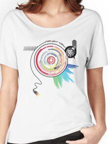 Pendulum Vinyl Music Mashup Women's Relaxed Fit T-Shirt