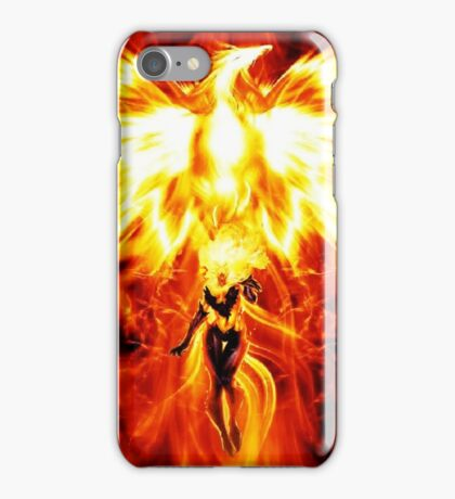 Jean the mighty Phoenix  iPhone Case/Skin